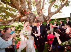 joyful ceremony wedding photo by Elizabeth Messina Photography