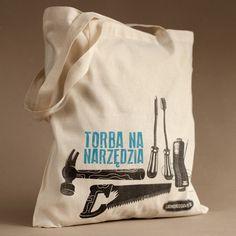 TORBA NA NARZĘDZIA -  ekologiczna w 100% wykonana z bawełny organicznej.