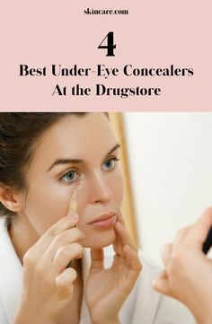 circles and fine lines are no match for these drugstore under-eye concealers. Ahead, find five affordable concealers that will blur imperfections for a natural finish, instantly.Dark circles and fine lines are no ma. Best Drugstore Concealer, Best Under Eye Concealer, Drugstore Makeup, Makeup Tips, Buy Makeup, Makeup Hacks, Makeup Routine, Skin Makeup, Makeup Products