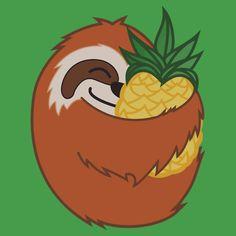 Pineapple Sloth