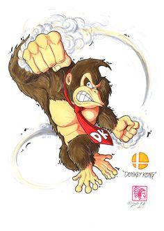 Crazy Eight Smash - Donkey Kong