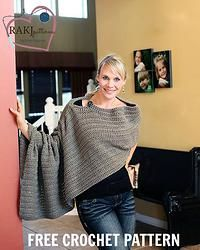 Free Crochet Pattern: Chic Slider Sweater