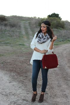 California Casual…wearing @Charlotte Russe @JustFab @AnaLiza Alba Leen