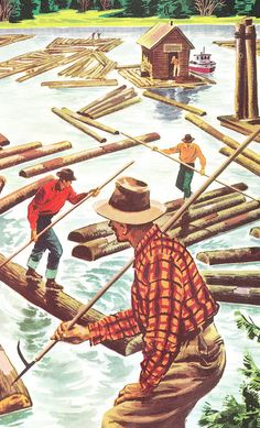 Lumberjack party - Canadian Lumber-jacks by NinaZed, via Flickr