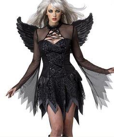 Adult Fallen Angel Costume LC8845 | Market Halloween