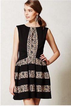 Eva Franco Anthropologie New Strata Dress $295 Size 14 #EvaFranco #Shift #Cocktail