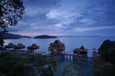 Premier Chalet on water at Berjaya Langkawi Island Resort, Langkawi, Malaysia