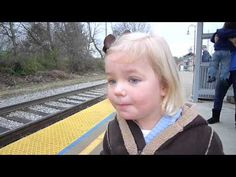 May we all see the world through the eyes of a child. Madeline + Train = Sheer Delight