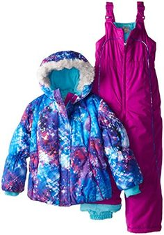 ZeroXposur Little Girls' Jeanne Two-Piece Outerwear Set *** Additional info @ Cute Baby Girl Outfits, Newborn Girl Outfits, Cooking Ware, Snow Wear, Ipod Nano, Jeanne, Girl Clothing, Dungarees, Kitchen Knives