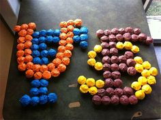 Florida/Florida State game cupcakes