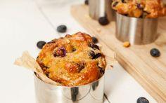 Bosbessen muffin