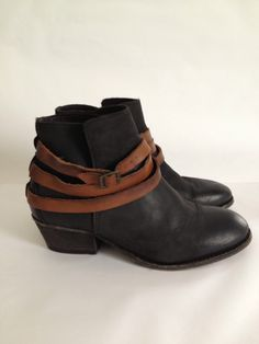 Womens H by Hudson Horrigan Black Ankle Boots | eBay