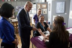 The Duke of Edinburgh, who turns 94 in two days, was sprightly as ever as he supervised le...