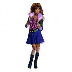 Costume de Clawdeen de Monster High    Plein de déguisements et accessoires Monster High sur Funidelia : http://www.funidelia.fr/officiel/monster-high-31