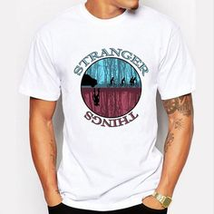Stranger Things T Shirt Men Tee