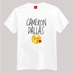 Cameron Dallas #emoji Tshirt