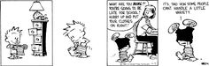 calvin and hobbes - a little variety