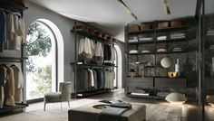 ZENIT WALK-IN WARDROBE by RIMADESIO available at Haute Living