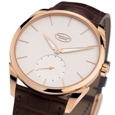 Top 10 Elegant Dress Watches for Men   Parmigiani Fleurier  in house movement- 18carat $20K