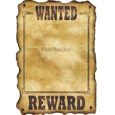Western Wanted Sign