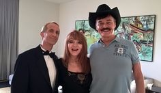 """On the set of """"Child of the 70s"""" with icons Judy Tenuta and Randy Jones (the original cowboy from the """"Village People"""")!"""