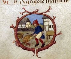 The labours of the Months, December