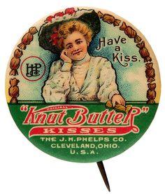 Knut Butter Candy pin back