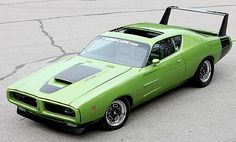 Tagged with dodge charger, custom cars, plymouth; Not a Superbird but not a bad idea either. Dodge Daytona, Dodge Charger Daytona, Daytona 500, Mopar, Muscle Cars Vintage, Vintage Cars, Dodge Muscle Cars, Us Cars, American Muscle Cars