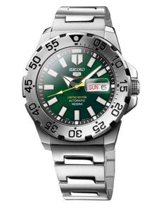 Seiko Mini Green Monster Limited Edition# (Worldwide pcs Only) Cool Watches, Watches For Men, Great Blue Hole, Seiko Monster, Gentleman Watch, Mini Monster, Popular Watches, Affordable Watches, Seiko Watches