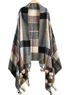 Shop Apricot Plaid Twisted Ball Tassel Scarve online. Sheinside offers Apricot Plaid Twisted Ball Tassel Scarve & more to fit your fashionable needs. Free Shipping Worldwide!
