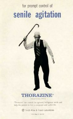 Shocking Thorazine ads from the 50s