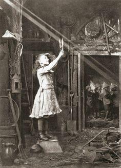 Cutting a sunbeam, England, 1886 Adam Diston