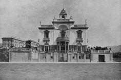 Francesco Fichera, Villa Inga a Genova