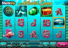 Find disappeared ocean treasures in Atlantis Queen free slot! There are 5 reels and 25 pay lines in Atlantis Queen, Playtech made game. It also has the high-quality symbols of the mermaid, the Poseidon, fishes, treasure chests, etc., and such features as Wild and Scatter icons, up to 14 free spins with the 3x multiplier and a Pearl Bonus feature. Let the mermaid guide you to treasures at www.SlotsUp.com