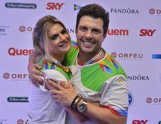 Mirella e Ceará: ela quer mais filhos e ele sonha em ter um menino (Foto: Revista Quem)