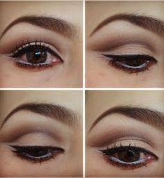 Neutral Cut Crease#neutrals#slight cat eye #natural eye