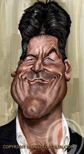 Simon Cowell Caricature