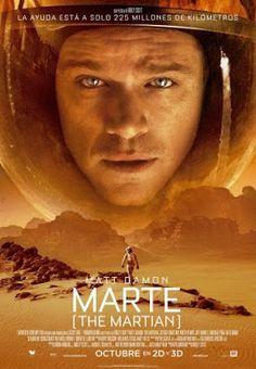 """Crítica de """"Marte (The Martian)"""" (2015), dirigida por Ridley Scott."""