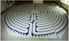 Hand crafted Portable Canvas Labyrinths