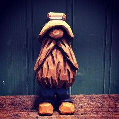 "449 Likes, 20 Comments - Doug (@dougoutside) on Instagram: ""I think I will call him ""Harry"" #woodcraft #caricaturecarving #woodcarving #whittling #carving"""