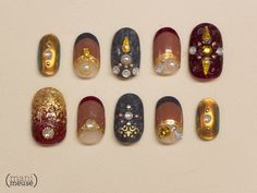 My submission for Brass's Nailgasm Doc! Man, I am so intimidated by the company these nails will keep…