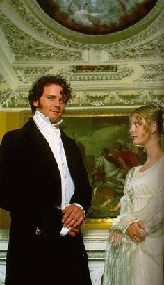 Mr Darcy & Miss Georgiana Darcy, Pride and Prejudice, 1995