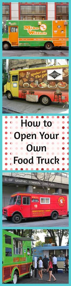 How To Open A Food Truck Infographic  Food Truck Business And Easy