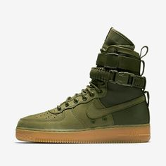 Nike has given its iconic Air Force 1 a battlefield upgrade with these