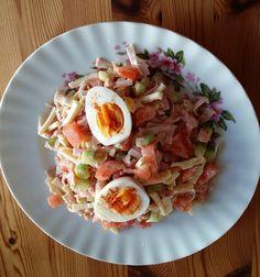 Wurst-Käse Salat 1