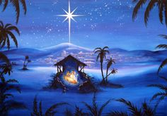 What is the Star of Bethlehem and what is its meaning? Enjoy this astronomy post from The Old Farmer's Almanac. Merry Christmas, Christmas Nativity Scene, Christmas Star, Christmas Holidays, Nativity Scenes, Christmas Scenes, Christmas Countdown, Christmas Recipes, Xmas