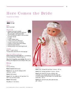 Aperçu du fichier Itty bitty knitties - Page - Fichier PDF Knitting Dolls Clothes, Yarn Dolls, Baby Doll Clothes, Crochet Baby Clothes, Knitted Dolls, Crochet Dolls, Baby Patterns, Doll Patterns, Knitting Patterns