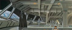 Ralph McQuarrie art for The Empire Strikes Back (1980)