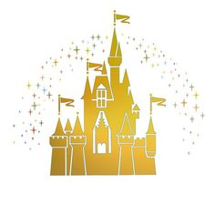 Magic Kingdom Cinderellas Castle With Tinkerbell By
