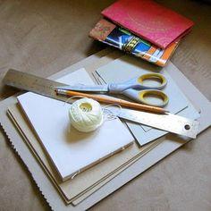book binding, repurposed journals